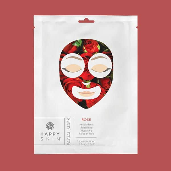 Happy Skin Facial Mask Rose