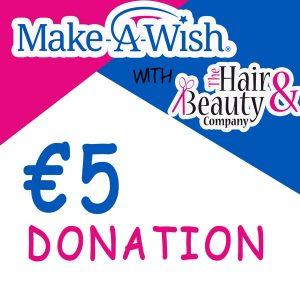 Make a wish 5 euro donation