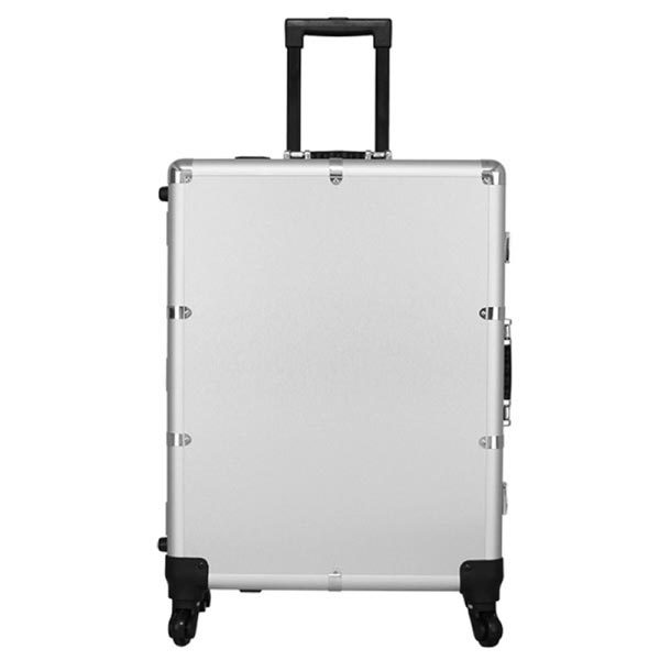 THBC Mobile Makeup Station case silver