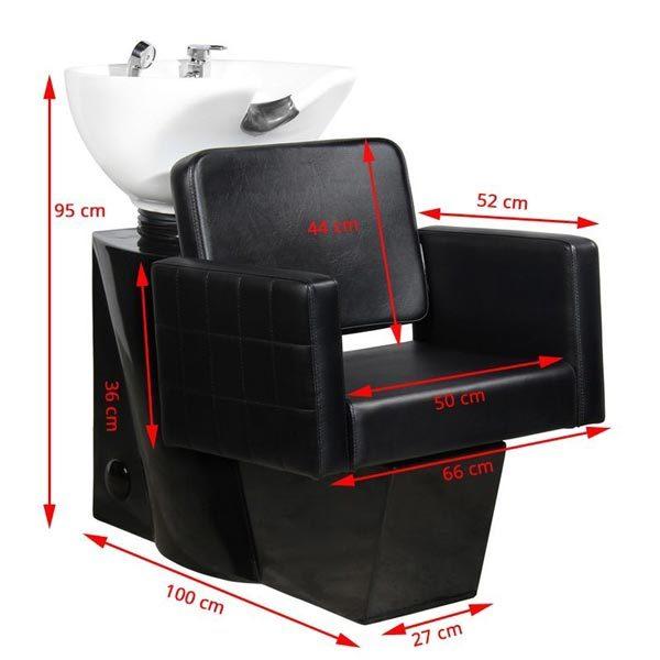 THBC Cara Wash Unit size