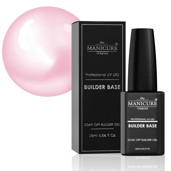 The Manicure Company Builder Base Deep Pink