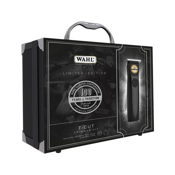 Wahl T Cut 100 Year Trimmer Limited Edition case