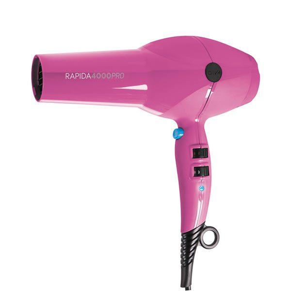 Diva Rapida 4000 Pro Hairdryer Magenta