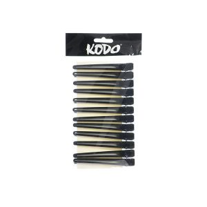 Kodo Duck Aluminium Clips Black
