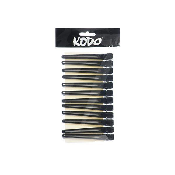 Kodo Duck Aluminium Clips Black