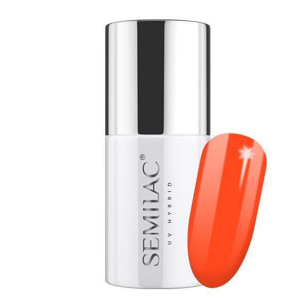 UV Hybrid Semilac Loud Mandarine No 554