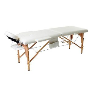 2 Part Portable Wooden Massage Bed