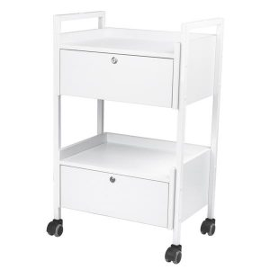Syis Locked Beauty Trolley 1