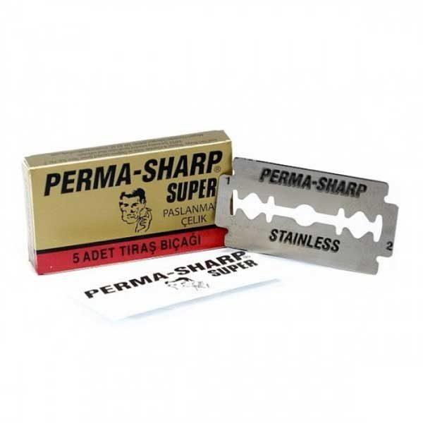 Perma Sharp Double Edge Razor Blades 100pk