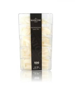 The Manicure Company Nail Tips with Well 500pk