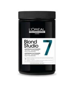 L'Oreal Professionnel Blond Studio 7 Clay Lightening Powder